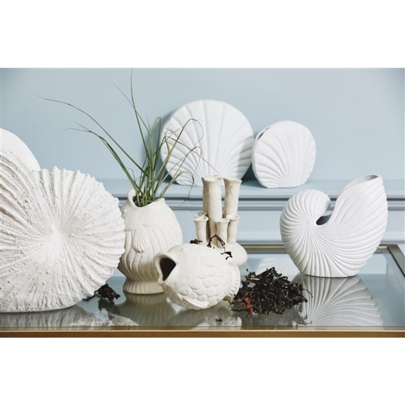 Nordal-collectie Beeld KETOY schelp wit