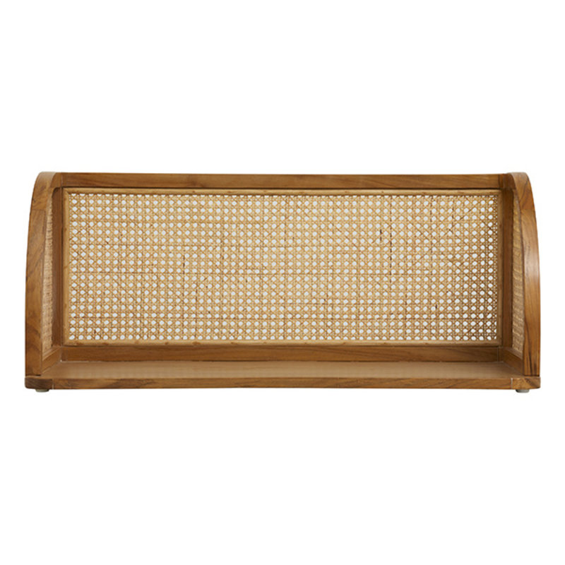 Nordal-collectie MERGE wall table w/rattan, natural