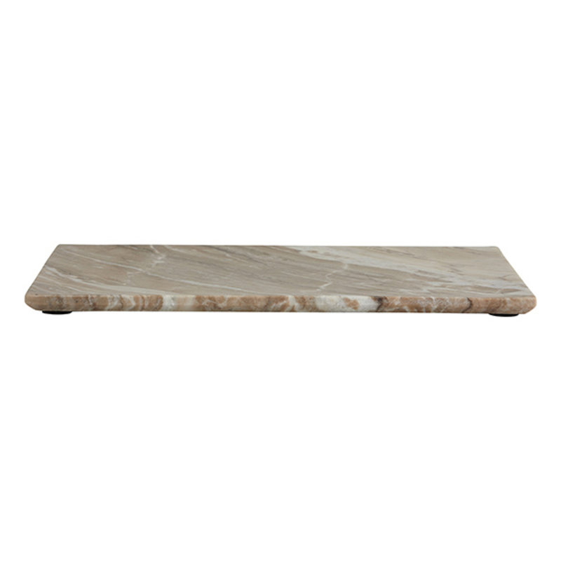 Nordal-collectie SALINA deco board,S, brown marble