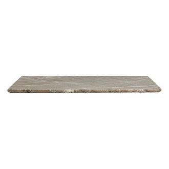 Nordal SALINA deco board, L, brown marble