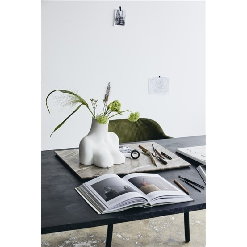 Nordal-collectie SALINA deco board, L, brown marble