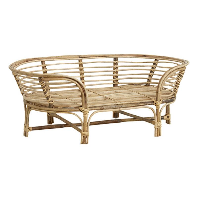 Nordal-collectie IRIRI dog bed, rattan/weaving, natural