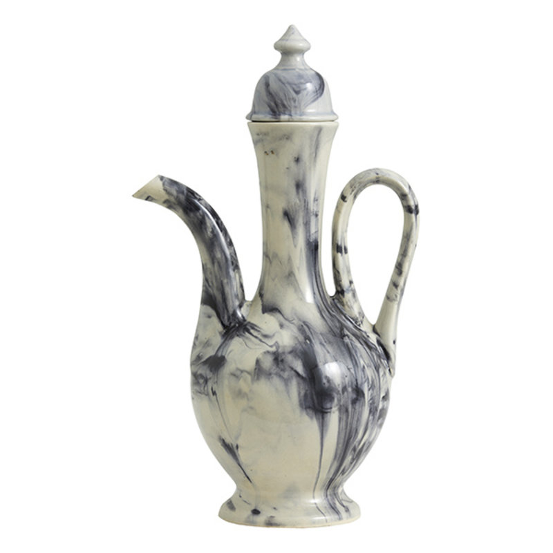 Nordal-collectie CASCADE pitcher w/lid, stoneware