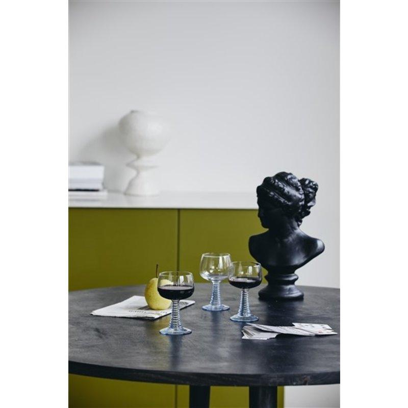 Nordal-collectie MOYO vase, round shape, white glaze