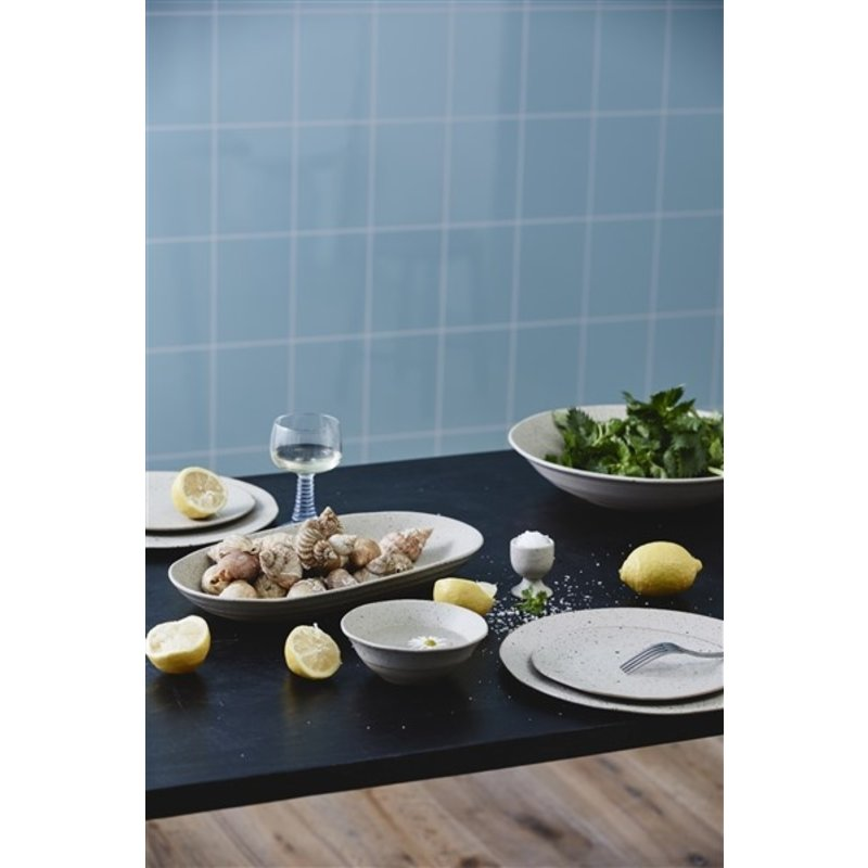 Nordal-collectie GRAINY salad plate, sand