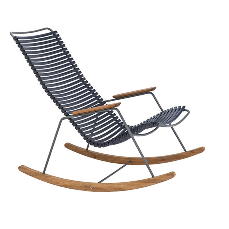 Houe-collectie CLICK schommelstoel Donkerblauw