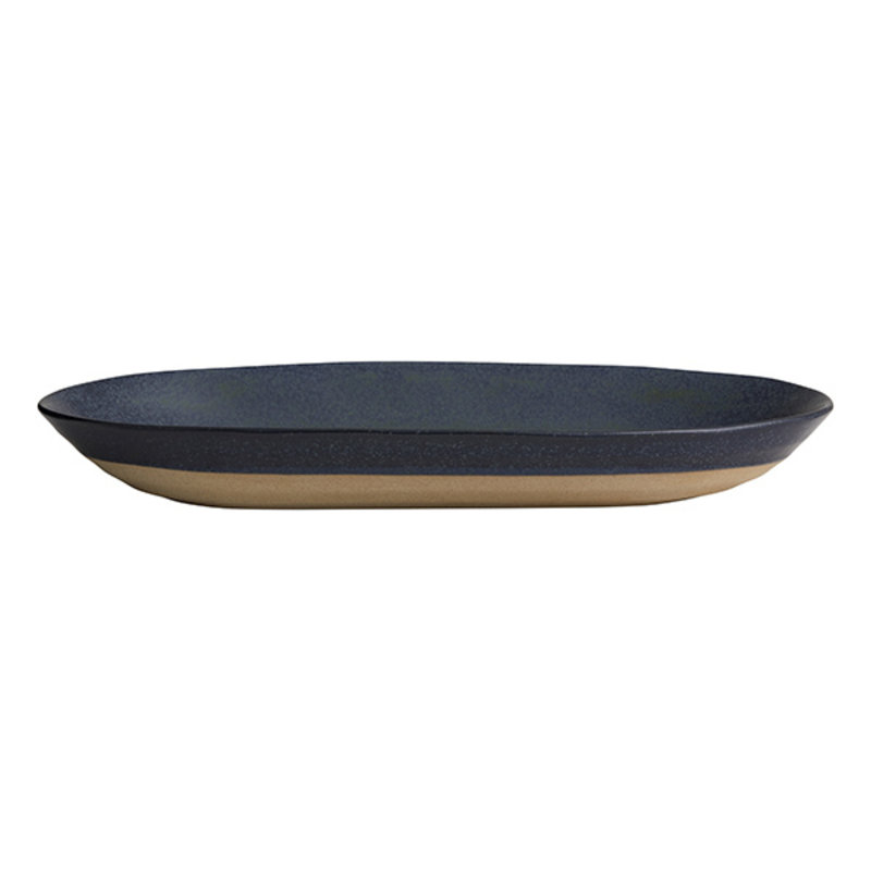 Nordal-collectie GRAINY dish, dark blue