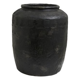 Nordal Bloempot CEMA XL zwart