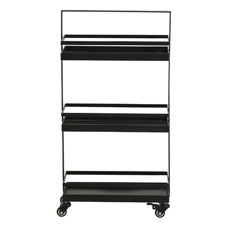 Nordal-collectie Trolley VOLLOS zwart