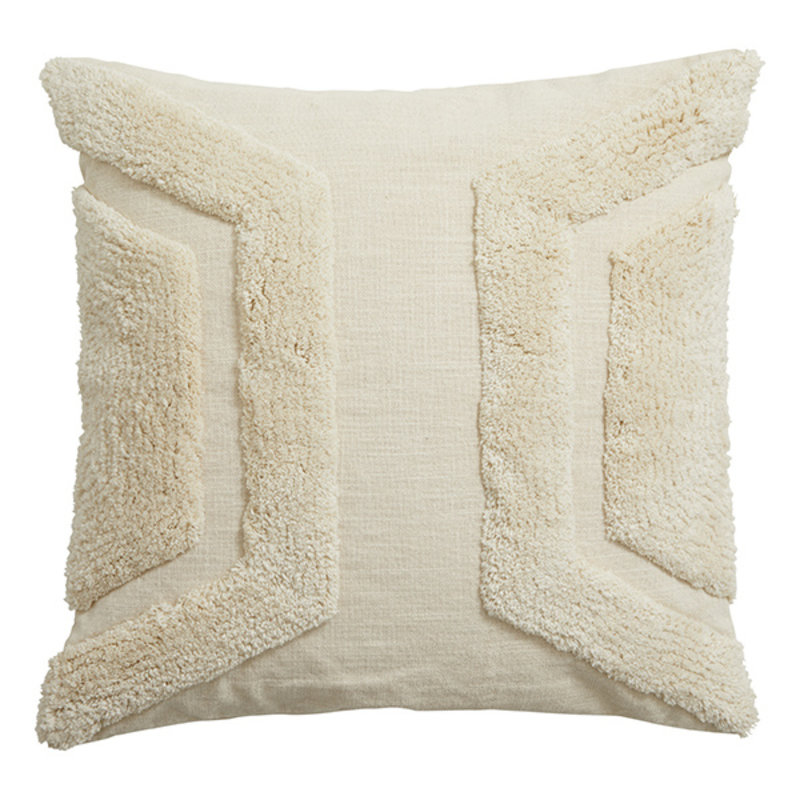 Nordal-collectie ALYA cushion cover, off white, rya