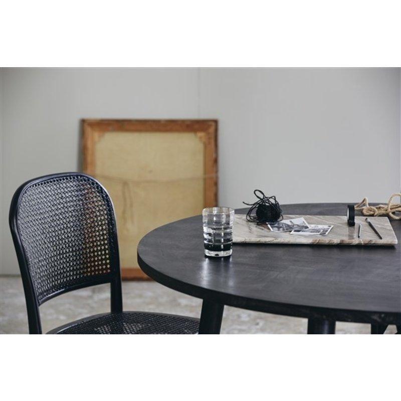 Nordal-collectie Ronde eettafel HAU zwart