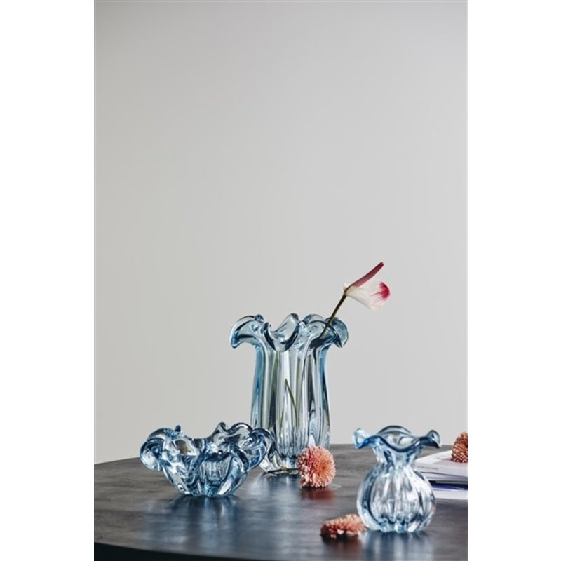 Nordal-collectie KATAJA vase, L, blue