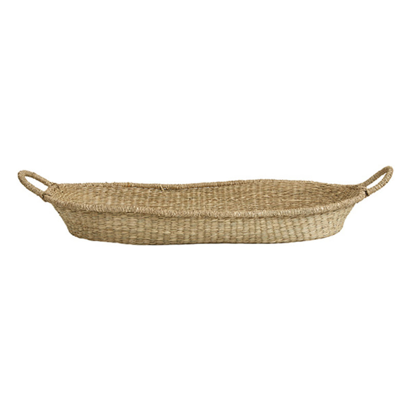 Nordal-collectie PORTO basket w handle, L, nature