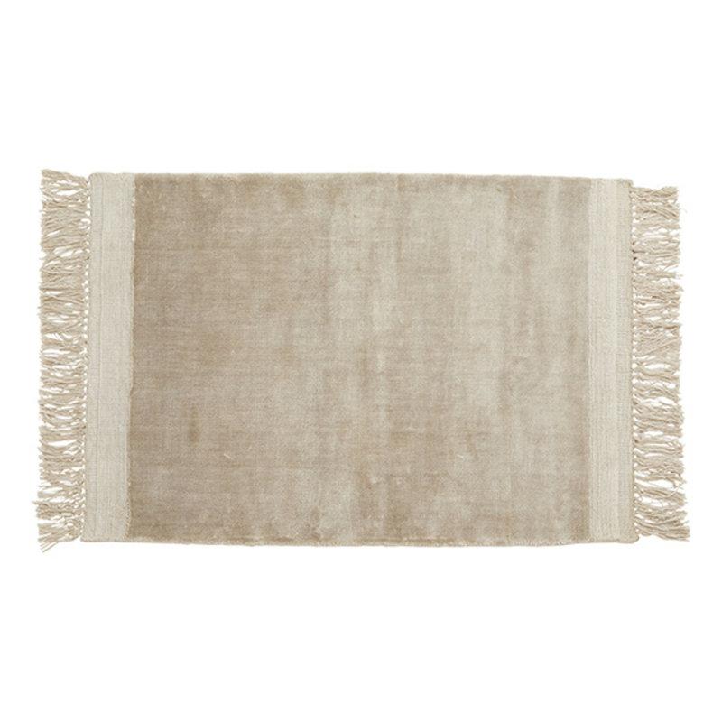 Nordal-collectie Vloerkleed FILUCA met franjes 240x160