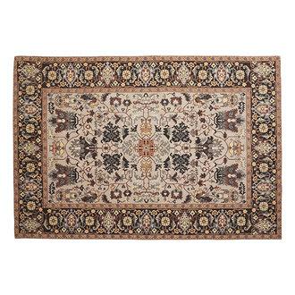 Nordal AMELIE jacquard woven carpet, multi