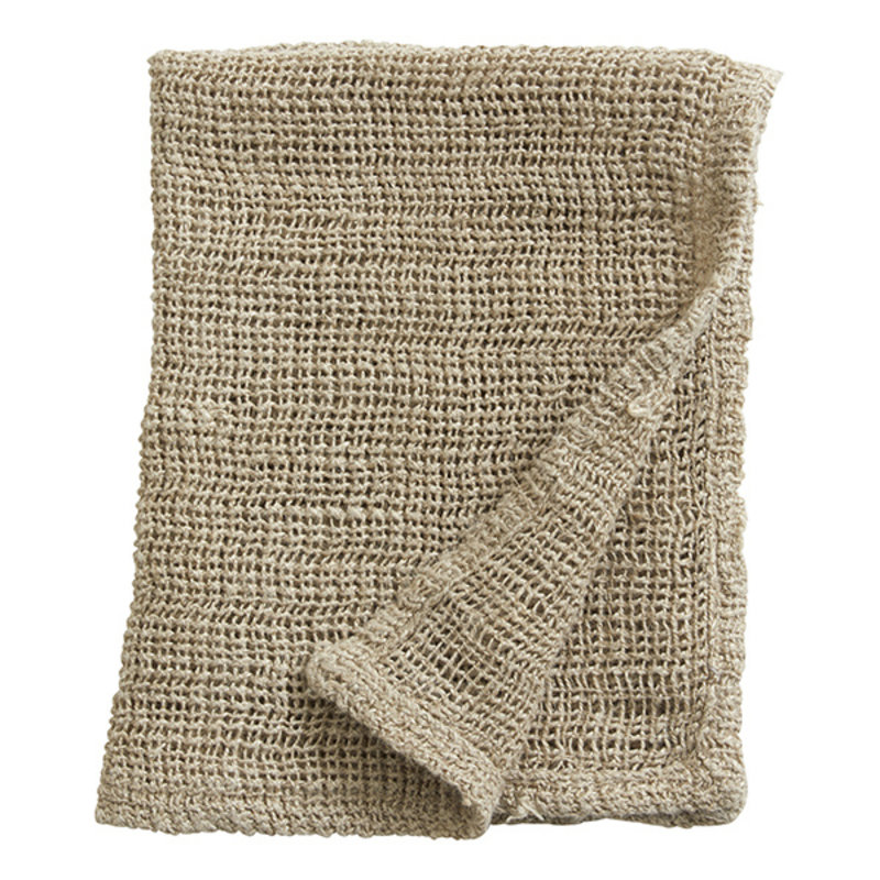 Nordal-collectie SATURN wash cloth, linen, natural