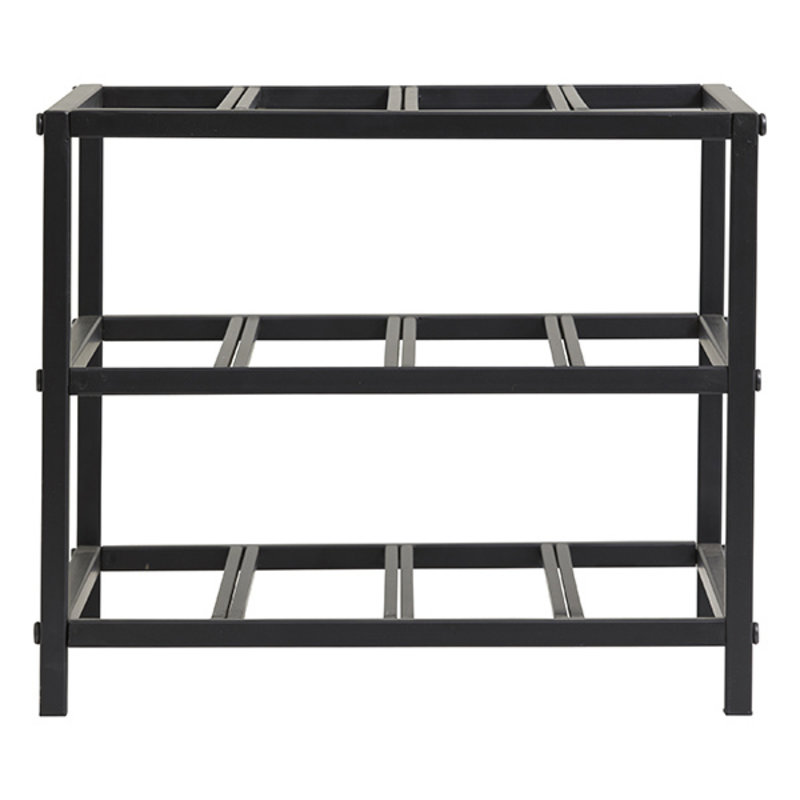 Nordal-collectie LORENZO wine rack, S, black