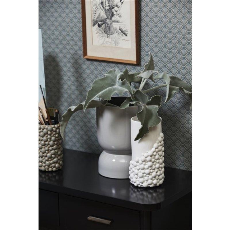 Nordal-collectie NAXOS vase, L, white