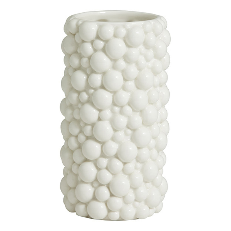 Nordal-collectie NAXOS vase, S, white