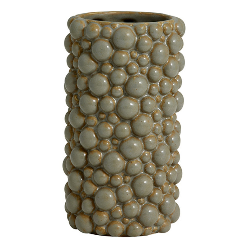 Nordal-collectie NAXOS vase, S, grey
