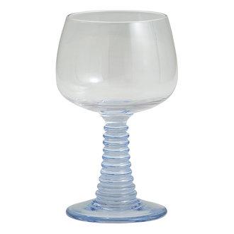 Nordal GORM wineglass, light blue stem