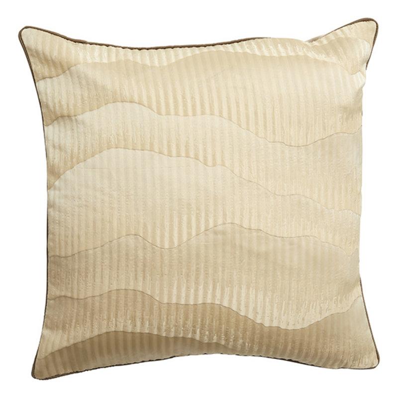 Nordal-collectie Kussenhoes AVIOR zand / bruin