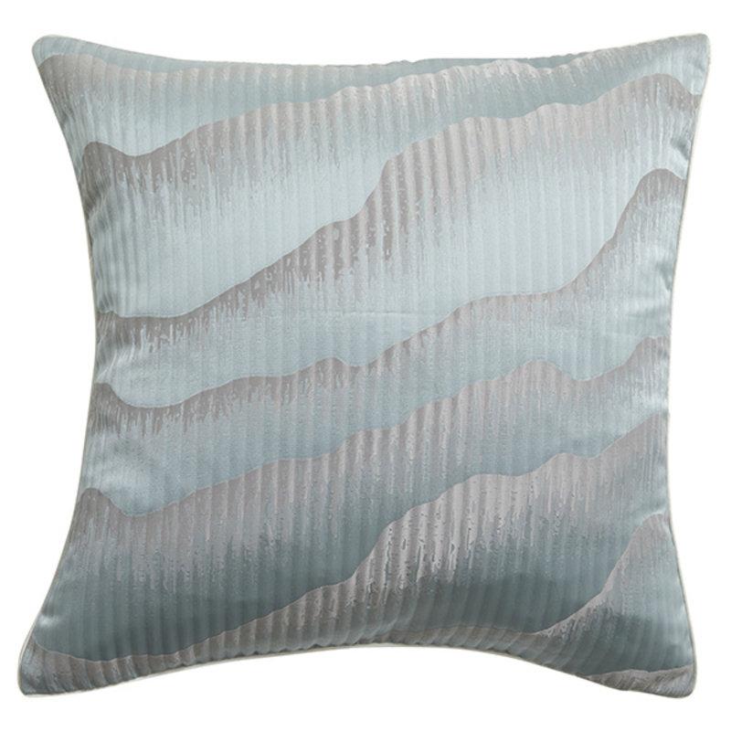 Nordal-collectie AVIOR cushion cover, blue/grey