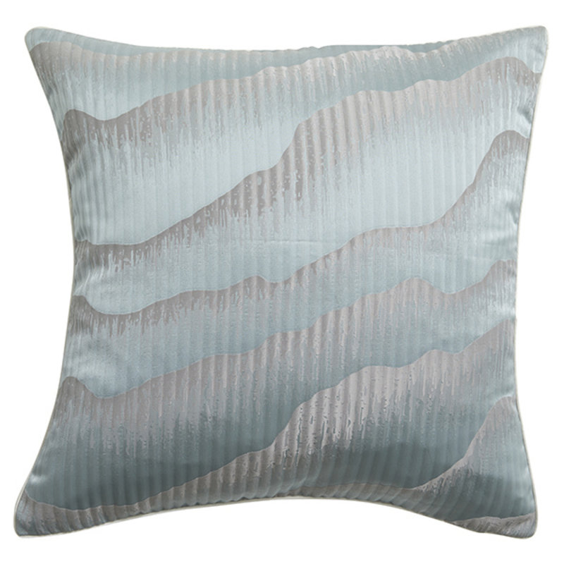 Nordal-collectie Kussenhoes AVIOR blauw / grijs