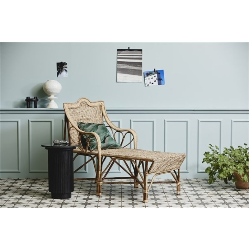 Nordal-collectie AVIOR cushion cover, green/green