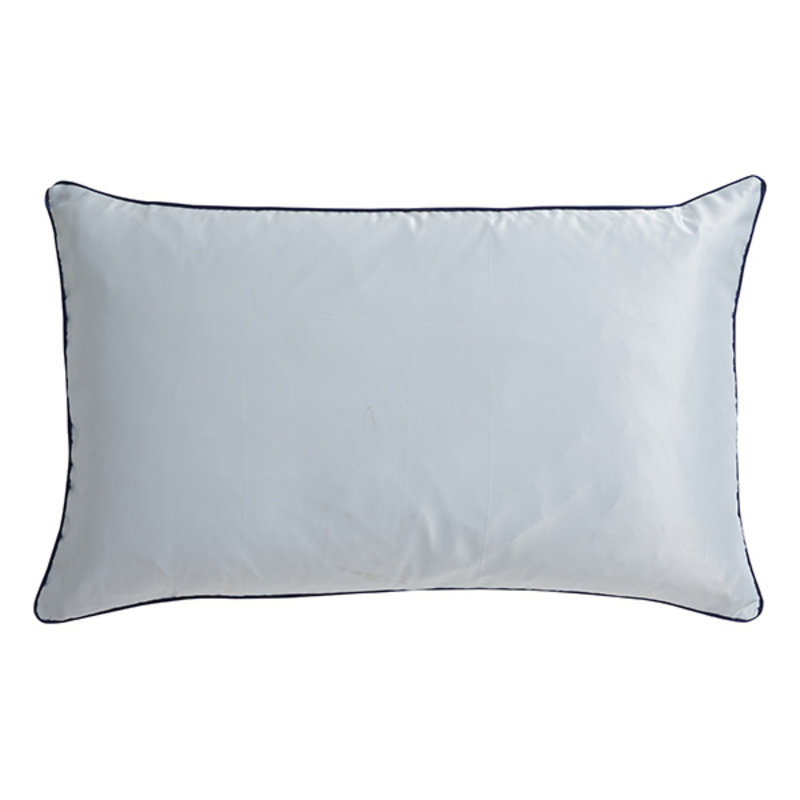 Nordal-collectie AIN cushion cover,L light blue/dark blue