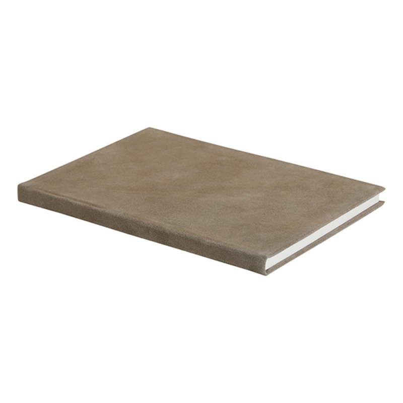 Nordal-collectie TONGA notebook, suede, grey large
