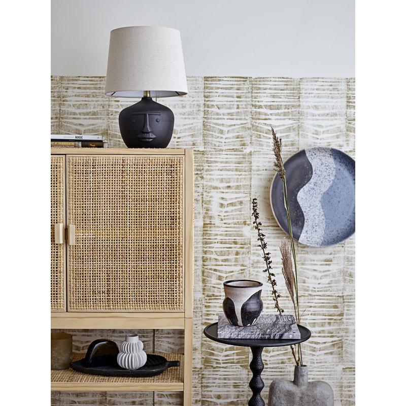Bloomingville-collectie Tafellamp Matheo Table lamp zwart - terracotta