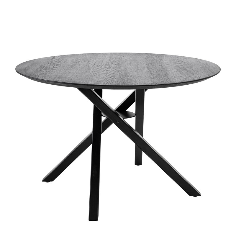 Bloomingville-collectie Connor Dining Table Black Oak