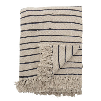Bloomingville Eia Throw Nature Recycled Cotton