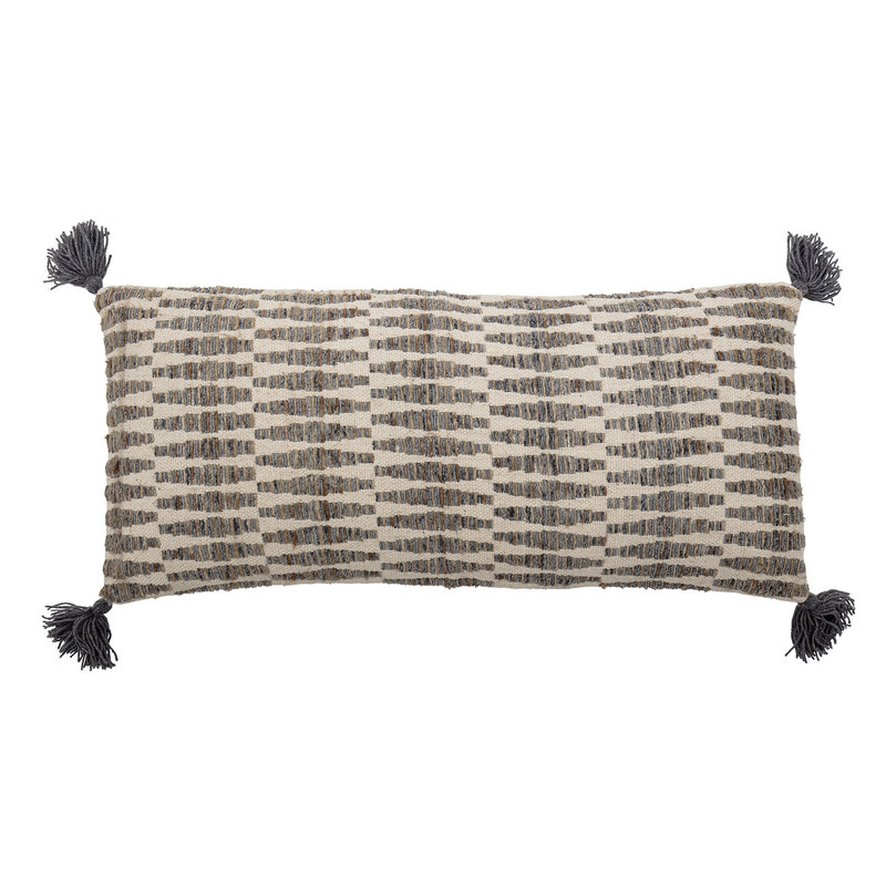 Bloomingville-collectie Jem Cushion Brown Cotton
