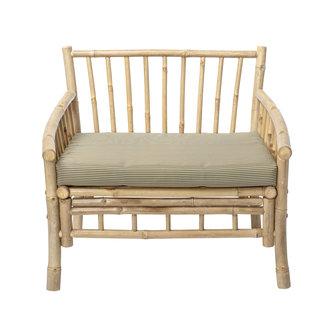 Bloomingville Bamboe lounge stoel