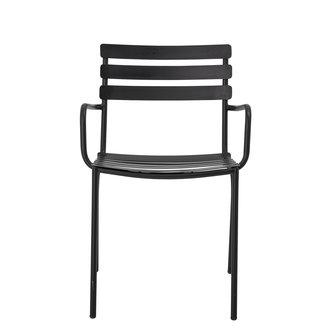 Bloomingville Monsi Dining Chair Black Galvanized iron