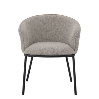 Bloomingville Cortone Dining Chair Grey Polyester