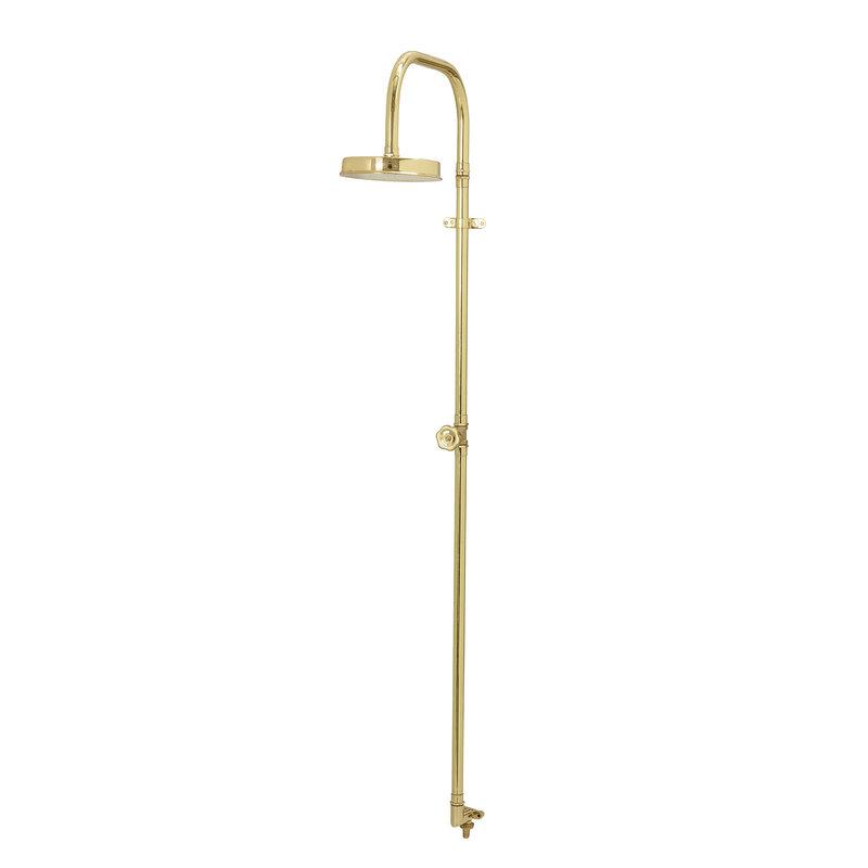 Bloomingville-collectie Tuindouche Camilie goud - brass