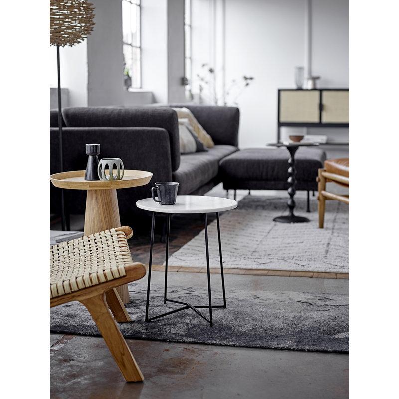 Bloomingville-collectie Lounge stoel Keila naturel teak hout