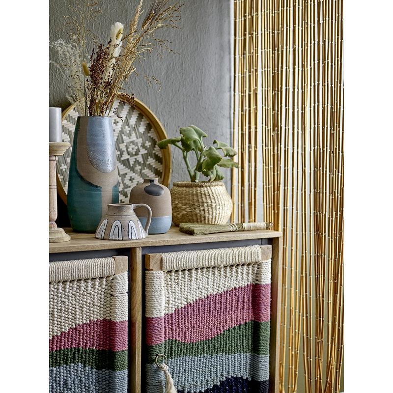 Bloomingville-collectie Calista Curtain Nature Bamboo
