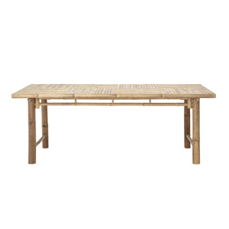 Bloomingville Sole Dining Table Nature Bamboo