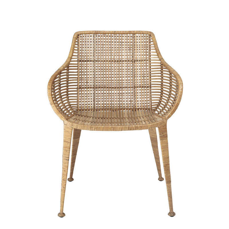 Bloomingville-collectie Amira Lounge Chair Nature Rattan
