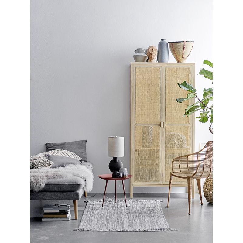 Bloomingville-collectie Lounge stoel Amira naturel rattan