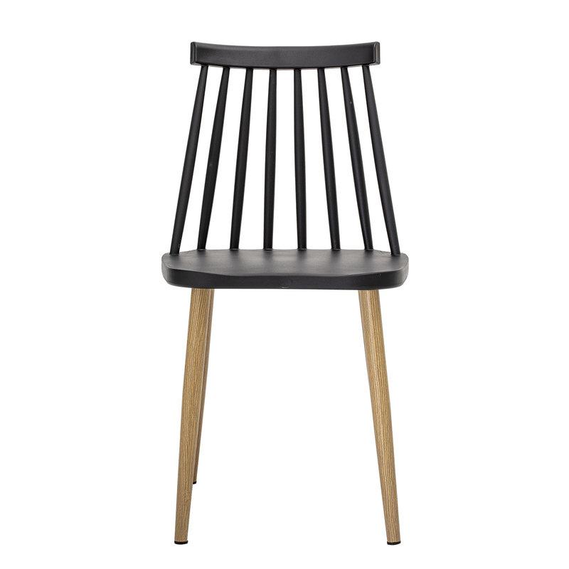 Bloomingville-collectie Bajo Chair Black Plastic