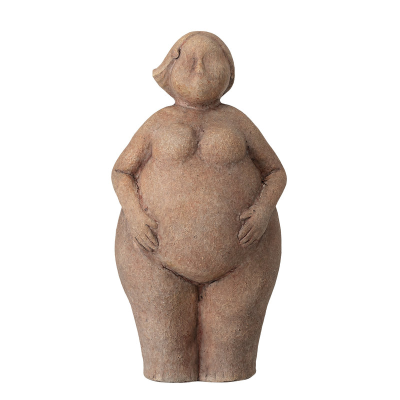Bloomingville-collectie Sidsel Deco Brown Terracotta