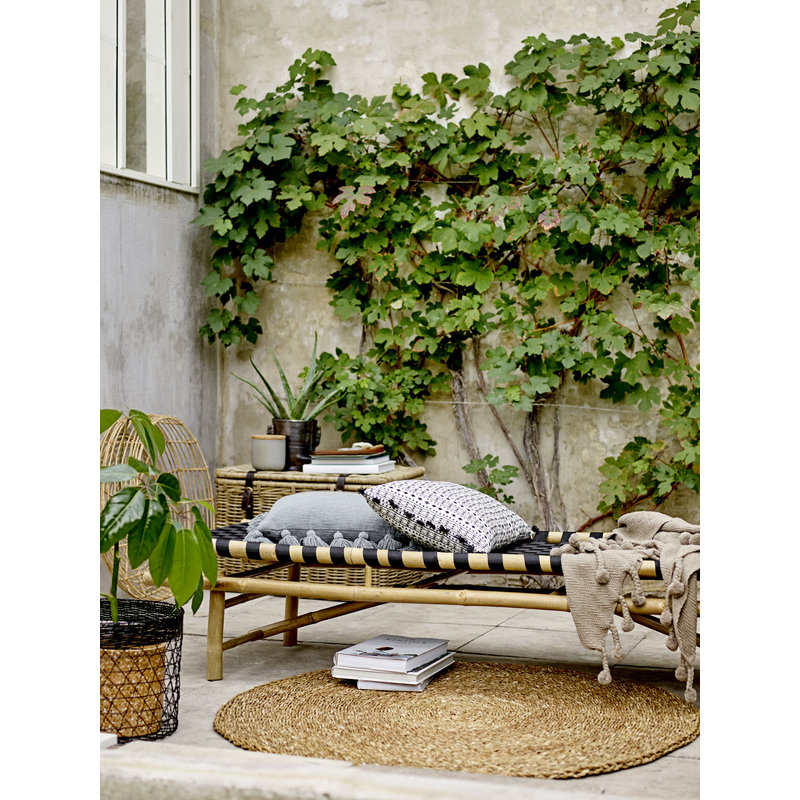 Bloomingville-collectie Vida Daybed Black Bamboo