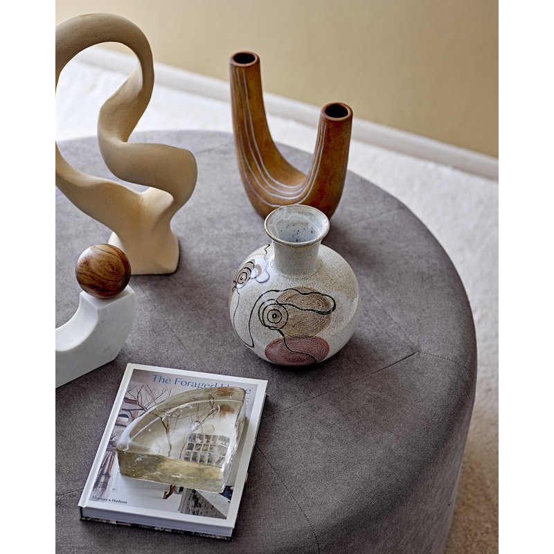 Bloomingville-collectie Sulpture Berhan naturel aardewerk
