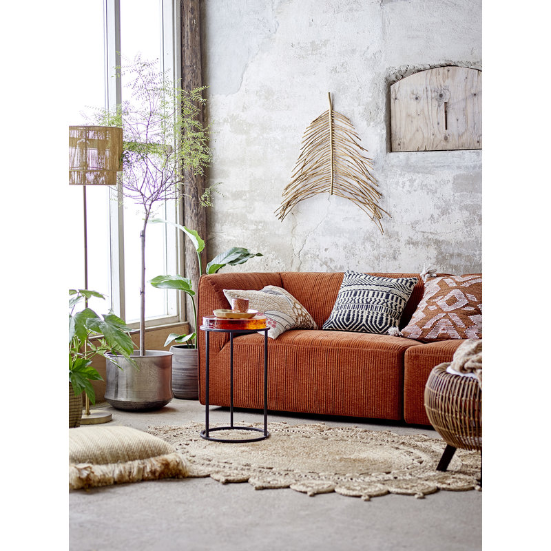 Bloomingville-collectie Petra Sofa Brown Polyester