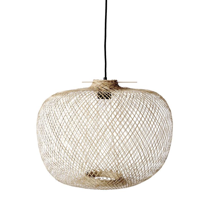 Bloomingville-collectie Rodi Pendant Lamp Nature Bamboo